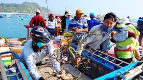Tết theo những con tàu ra đảo Nhơn Châu