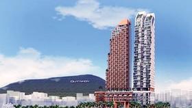 Phối cảnh dự án Khu phức hợp Khách sạn, Thương mại và Căn hộ cao cấp Thiên Hưng tại TP Quy Nhơn.