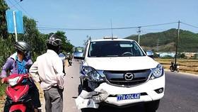 Khẩn trương điều tra nguyên nhân xe CSGT tông chết người trên QL19