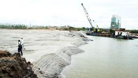 Bình Định chỉ đạo khẩn trương làm rõ trách nhiệm doanh nghiệp hút cát ở đầm Thị Nại