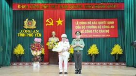 Đại tá Phan Thanh Tám làm Giám đốc Công an tỉnh Phú Yên