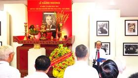 Dâng hương tưởng niệm 110 năm Ngày sinh Luật sư Nguyễn Hữu Thọ