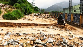 Bình Định báo cáo sự cố sạt lở tại Thủy điện Vĩnh Sơn 5