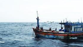 Đã liên hệ được với 12 ngư dân mất tích nhiều ngày trên biển