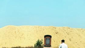 Làm rõ núi cát nằm giữa di tích lịch sử Chiến thắng Đệ Đức