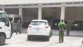 Truy bắt tài xế vượt chốt kiểm dịch vào TP Quy Nhơn
