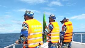 Bộ đội Biên phòng đang tìm kiếm 2 ngư dân mất tích trên biển