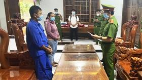 Phú Yên: Bắt thêm 2 đối tượng phá trắng rừng ở huyện Sơn Hòa