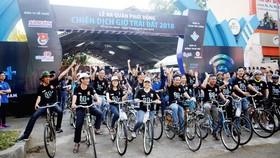 Hơn 2.000 tình nguyện viên tham gia phát động chiến dịch Giờ Trái đất 2018