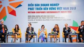 Đại diện các doanh nghiệp hàng đầu của Việt Nam và quốc tế tham gia diễn đàn