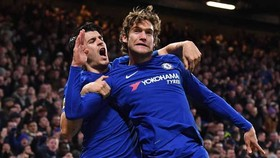 Chelsea - Brighton & Hove Albion 2-0: Morata và Alonso cùng lập công