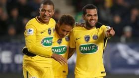 Rennes - Paris Saint Germain 1-6: Neymar, Mbappe và Di Maria thi nhau lập cú đúp