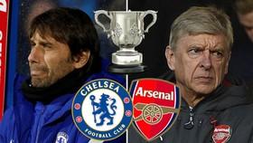 Chelsea - Arsenal 0-0 (lượt đi): Lại bất phân thắng bại