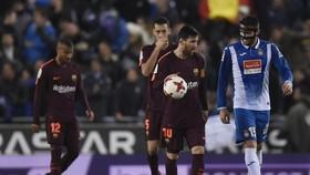 Espanyol - Barcelona 1-0: Messi, Suarez tịt ngòi, Barca bất ngờ thất thủ