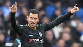 Brighton&Hove Albion - Chelsea 0-4: Eden Hazard lập cú đúp