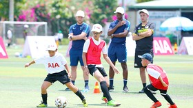 """Ngày hội """"Các chân sút nhí"""" cùng Tottenham Hotspur"""