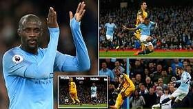 Man City - Brighton & Hove Albion 3-1: Trận cầu nhiều kỷ lục