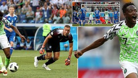 Bảng D, Nigeria - Iceland 2-0: Musa ghi cú đúp, Đại bàng xanh phá tan Băng đảo