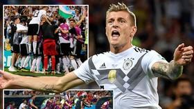 Bảng F, Đức - Thụy Điển 2-1: Người hùng Toni Kroos mang xe tăng hồi sinh