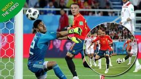 Bảng B, Tây Ban Nha - Maccoco 2-2: Aspas kịp ghi bàn, VAR lại cứu thua