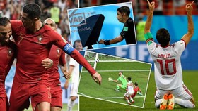 Bảng B, Iran - Bồ Đào Nha 1-1: Ronaldo hỏng phạt đền, Ansarifard cứu thua phút cuối