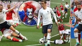 Bảng C, Đan Mạch - Pháp 0-0: Dắt tay nhau đi tiếp