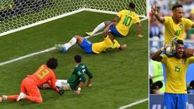 Vòng 1/8, Brazil - Mexico 2-0: Vũ điệu mang tên Neymar, Firmino