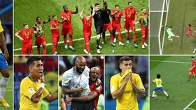 Tứ kết, Brazil - Bỉ 1-2: Kevin de Bruyne đưa Bỉ đi tiếp, Neymar khóc hận