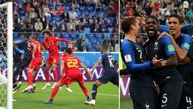 Bán kết 1, Pháp - Bỉ 1-0: Trung vệ Barca Umtiti đưa Pháp vào Chung kết sau 12 năm