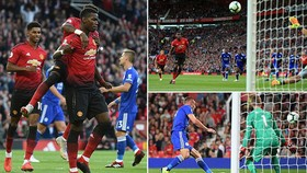 Man United - Leicester 2-1: Pogba, Luke Shaw lập công, Mourinho khai màn thuận lợi