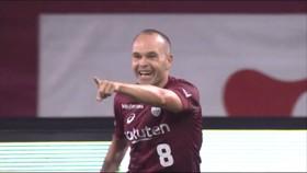 Andres Iniesta ghi bàn thắng đầu tiên tại J League