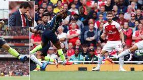 Arsenal - Man City 0-2: Sterling, B.Silva thị uy, Emirates thất thủ ngày xuất quân