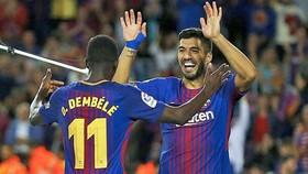 Real Sociedad - Barcelona 1-2: Bộ đội Suarez, Dembele tỏa sáng, Barca ngược dòng 3 phút