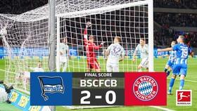 Hertha Berlin - Bayern Munich 2-0: Ibisevic và Duda gây sốc khi hạ nhà vô địch