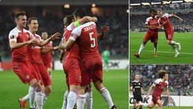 Qarabag - Arsenal 0-3: Sokratis, Smith Rowe và Guendouzi nối dài 8 trận thắng