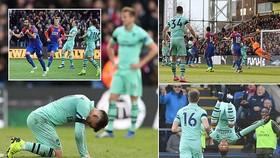 Crystal Palace - Arsenal 2-2: Xhaka, Aubameyang ghi bàn, Milivojevic cầm chân Pháo thủ