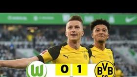 Wolfsburg - Borussia Dortmund 0-1: Marco Reus tiếp tục tỏa sáng