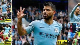 Man City - Southampton 6-1: Aguero, Silva, Sane ghi bàn, Sterling lập cú đúp