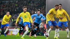 Brazil - Uruguay 1-0: Neymar ghi bàn từ chấm phạt đền