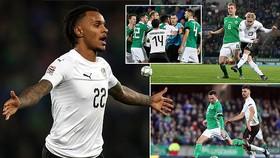 Bắc Ireland - Áo 1-2: Xaver Schlager khai màn, Valentino Lazaro làm người hùng phút 90