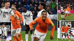 Đức - Hà Lan 2-2: Werner, Sane thắp hy vọng nhưng Promes, Van Dijk gieo sầu Joachim Loew