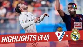 "Eibar - Real Madrid 3-0: Escalante, Sergi Enrich, Garcia Martinez bắn hạ ""Kền kền trắng"""