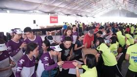 Khai trương Làng Marathon Quốc tế TPHCM Techcombank 2018