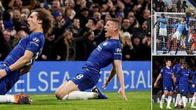 Chelsea - Man City 2-0: N'Golo Kante, David Luiz vụt sáng, Sarri hạ gục Pep Guardiola
