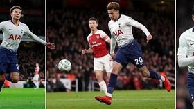 Arsenal - Tottenham 0-2: Son Heung-min, Alli khiến HLV Unai Emery bại trận