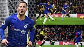 Watford - Chelsea 1-2: Eden Hazard tỏa sáng, Maurizio Sarri giành lại vị trí thứ 4