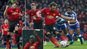 Man United - Reading 2-0: Mata, Lukaku lập công, HLV Solskjaer kéo dài mạch thắng