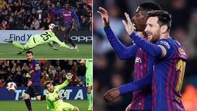 Barca - Levante 3-0 (chung cuộc 4-2): Dembele lập cú đúp, Messi ấn định chiến thắng