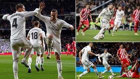 Real Madrid - Girona 4-2: Vazquez, Benzema ghi bàn, Sergio Ramos lập cú đúp
