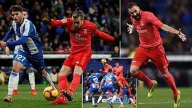 Espanyol - Real Madrid 2-4: Benzema lập cú đúp, Ramos, Gareth Bale ấn định chiến thắng tưng bừng
